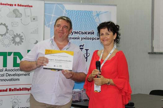 Вітаємо з Ювілеєм доцента Коноплянченка Євгенія В'ячеславовича!