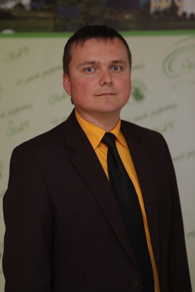 """VLADYSLAV ZUBKO,  head of the """"Tractors, Agricultural Machines And Transport Technologies"""" department"""